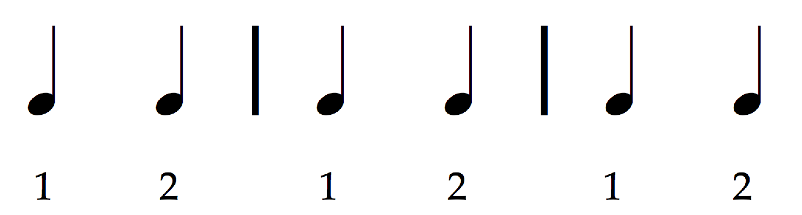 how to read music (in 30 days) - Day 4: Meter / in two