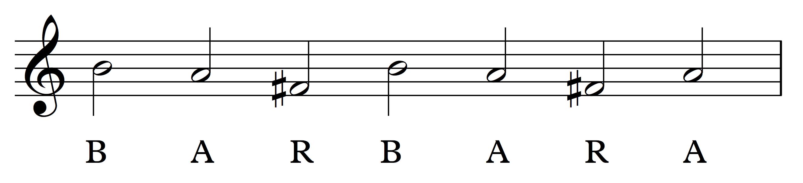 Barbara motif for School of Composition.com Challenge