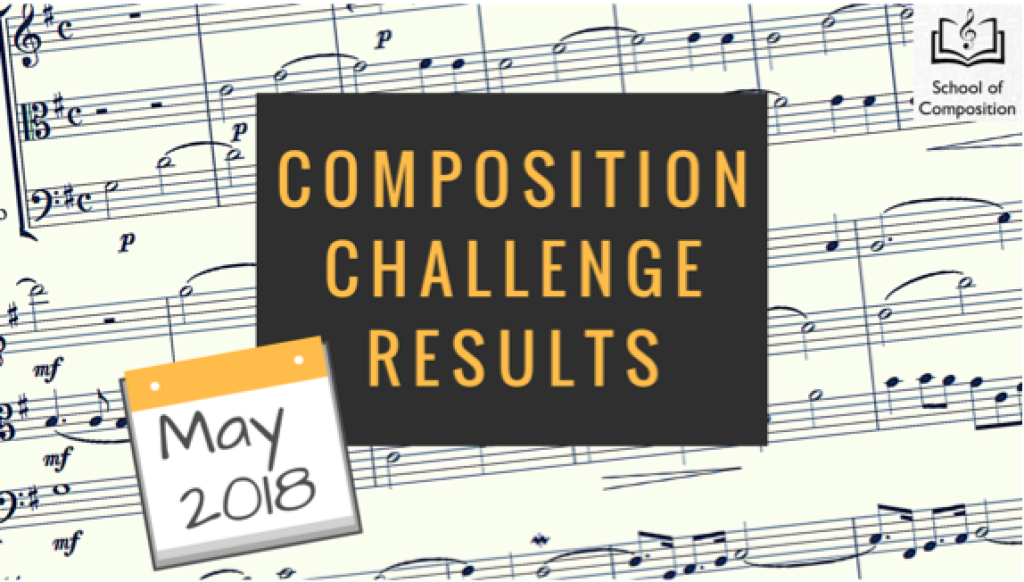 May Composition Challenge - School of Composition