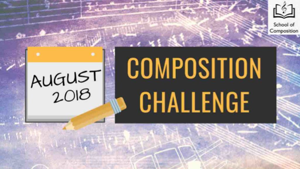 Monthly Music Composition Challenge - August 2018