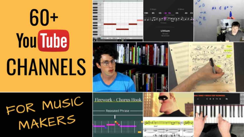 60+ best music theory and composition youtube channel