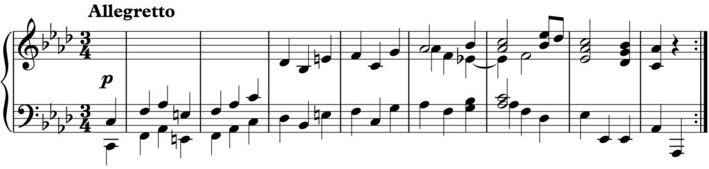 Beethoven: Piano Sonata no. 6, Op. 10 - 2nd movement