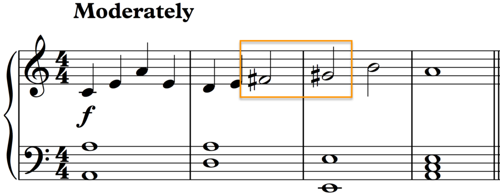 The 6th and 7th degrees of the scale are raised for a smoother melody.