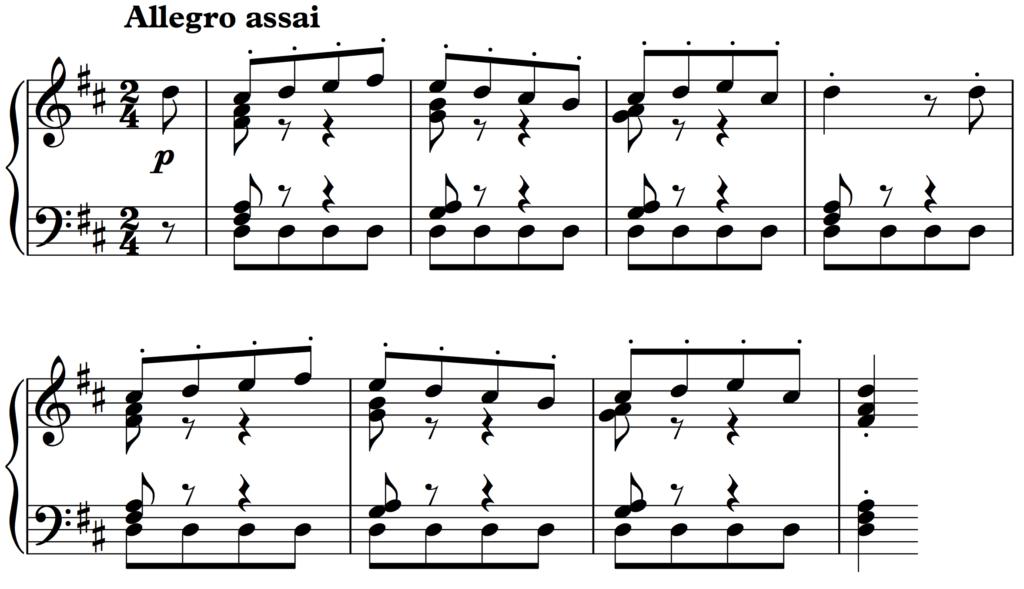 Bizet's Farandole - an uninspired alternative