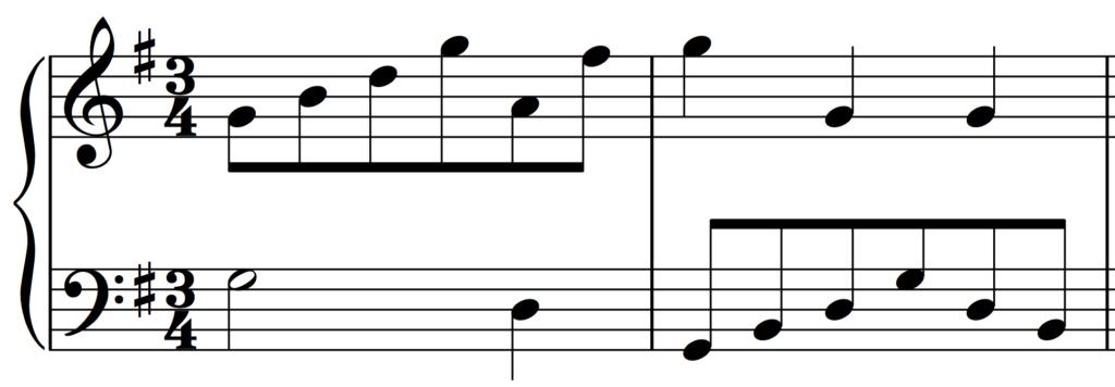 Bach: Minuet