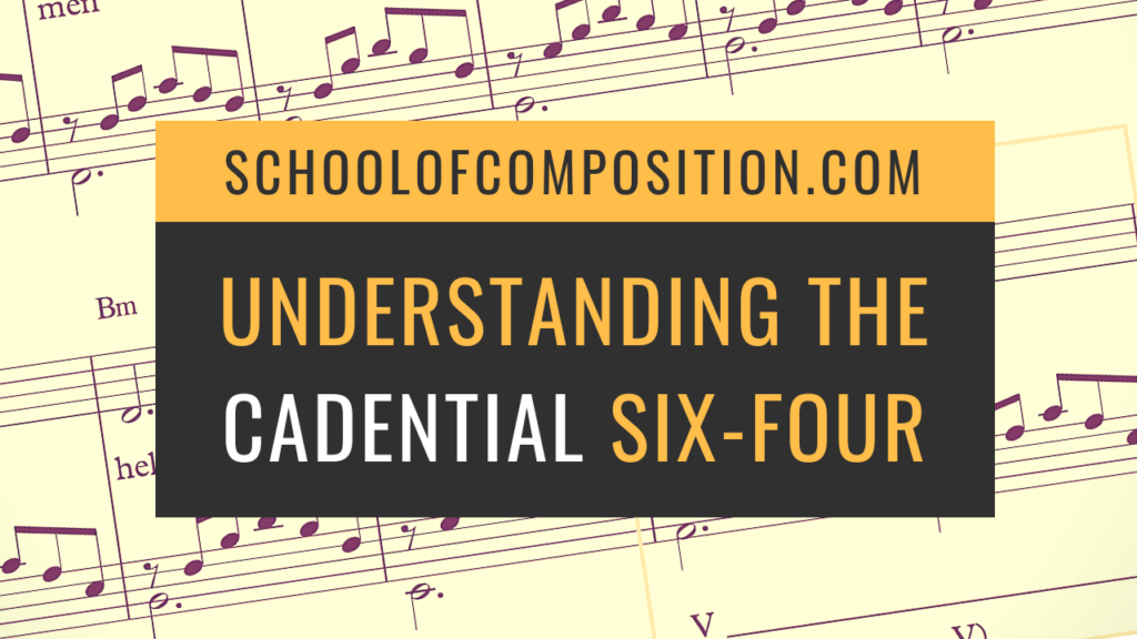 Understanding the cadential six four