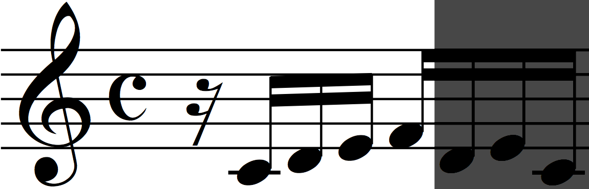 Motif 'a' (from Bach Invention no 1)