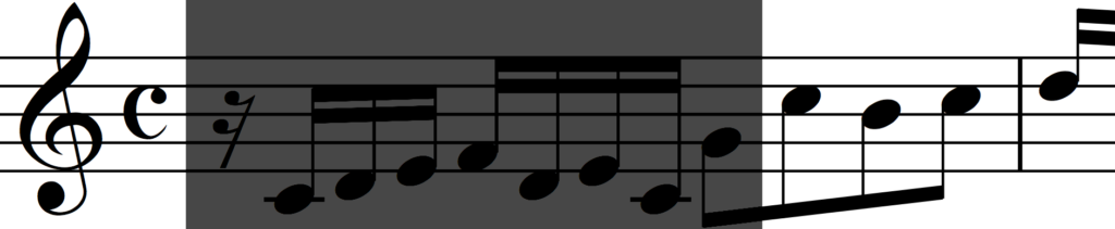 Motif 'c' from Bach's Invention no. 1