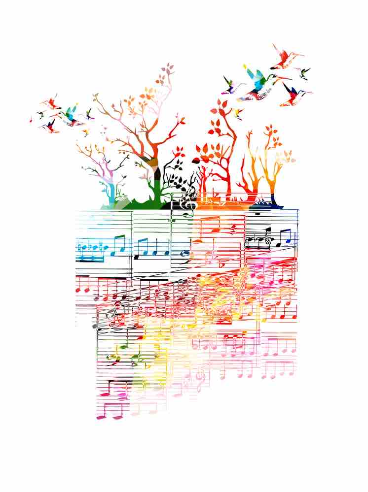 Nature and music are always intimately connected.