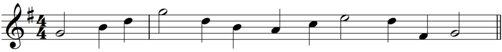 How to Add Bar Lines example 1