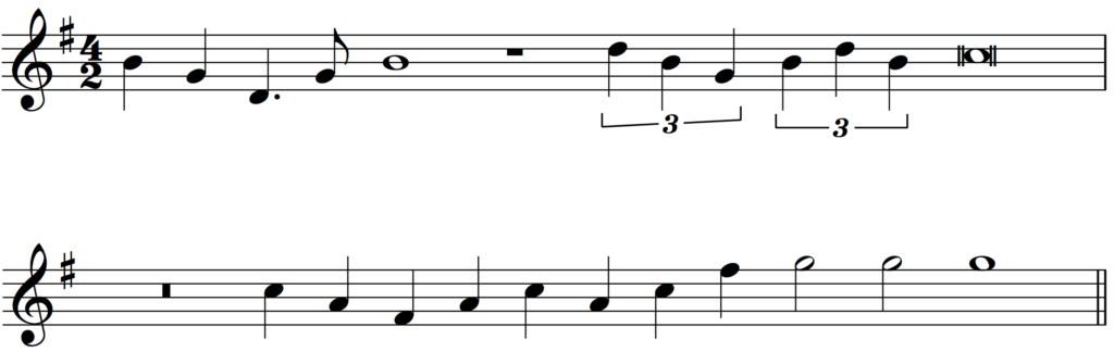 'How to Add Bar Lines' example 12