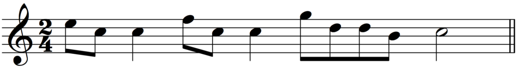 'How to Add Bar Lines' example 2