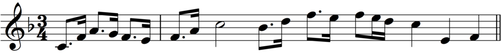 'How to Add Bar Lines' example 4