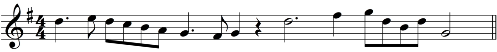 'How to Add Bar Lines' example 3