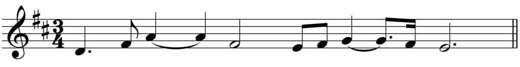 'How to Add Bar Lines' example 5
