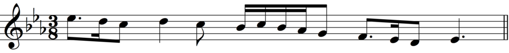 'How to Add Bar Lines' example 6