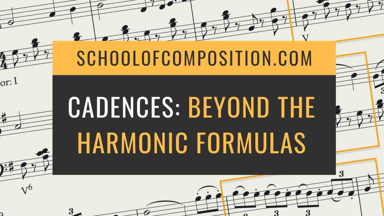 Cadences in Music: Beyond the Harmonic Formulas